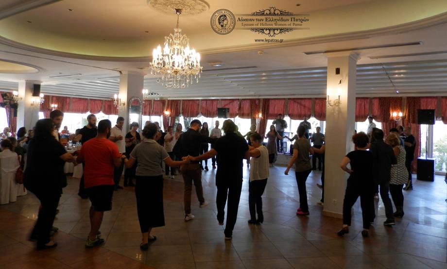 2017-10-22: Γλέντι: «Διαβατήριοι χοροί και πολιτισμικές σημασίες: Η μουσικοχορευτική παράδοση στον δήμο Λουτρακίου- Περαχώρας, στον κύκλο της ζωής και του χρόνου.»