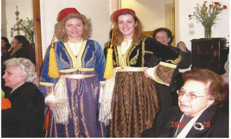 2006-01-29: Κοπή πίτας στην αίθουσα του Λυκείου των Ελληνίδων