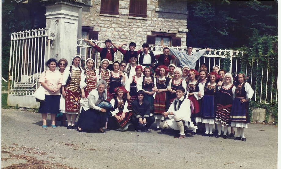 1989-07: Συμμετοχή στο Διεθνές Φεστιβάλ του Chamberry της Γαλλίας
