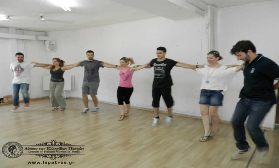 2014-06-29: Πρόβα για τη Συμμετοχή του Λυκείου των Ελληνίδων Πατρών στο Διεθνές Φεστιβάλ του Udine της Ιταλίας