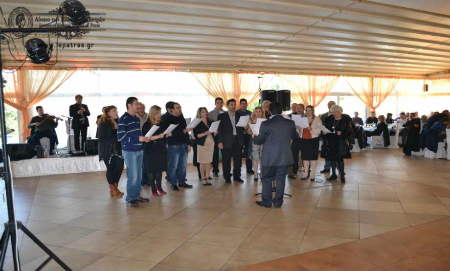 2014-01-19: Κοπή Πρωτοχρονιάτικης Πίτας με την Ορχήστρα του Νίκου Φιλιππίδη
