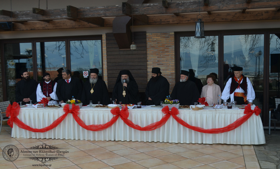 2017-02-18: Γυρίσματα από τη συμμετοχή του Λυκείου των Ελληνίδων Πατρών στην Εορταστική Πασχαλινή Εκπομπή για το κανάλι του «ΛΥΧΝΟΥ».