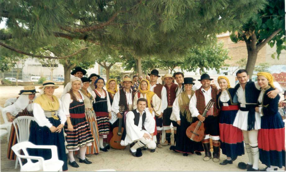 2003-2-7 έως 7-7: Συμμετοχής στο Διεθνές Φεστιβάλ του Rubi της Ισπανίας