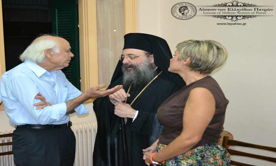 2014-10-18: Εγκαίνια Λυκείου των Ελληνίδων Πατρών