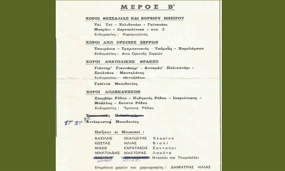 1984-07-10: Αρχαίο Ωδείο Πατρών - Παρουσίαση Ελληνικών Χορών του Λυκείου των Ελληνίδων 3/3