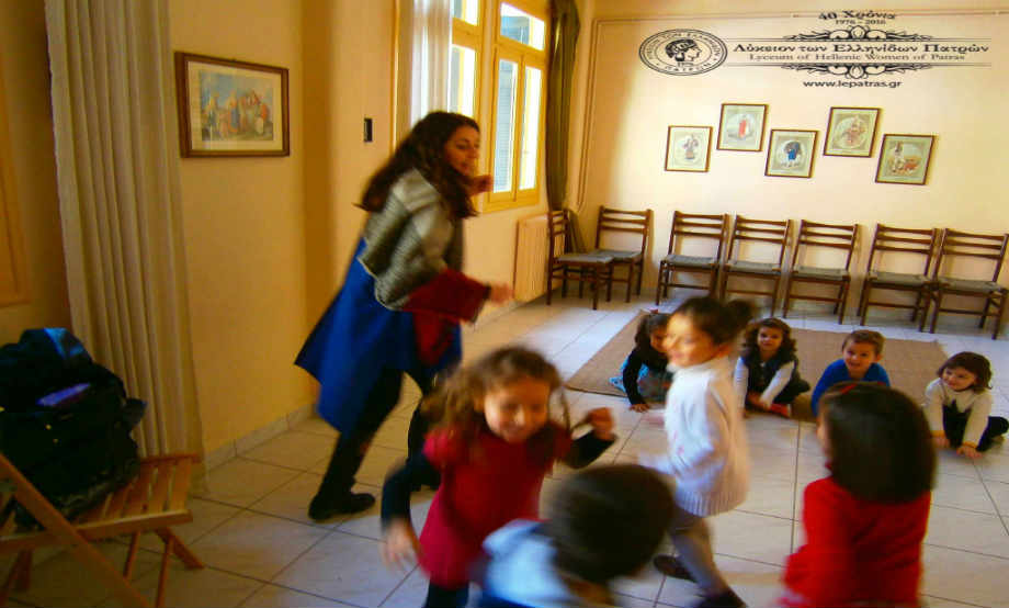 2016-12-03: Oι καλικάντζαροι έχουν γυρίσει τις κατσαρόλες και παίζουν μουσική!