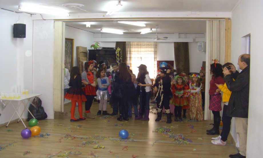 2012-02-18: Παιδικό Αποκριάτικο Πάρτυ στην Αίθουσα του Λυκείου Ελληνίδων