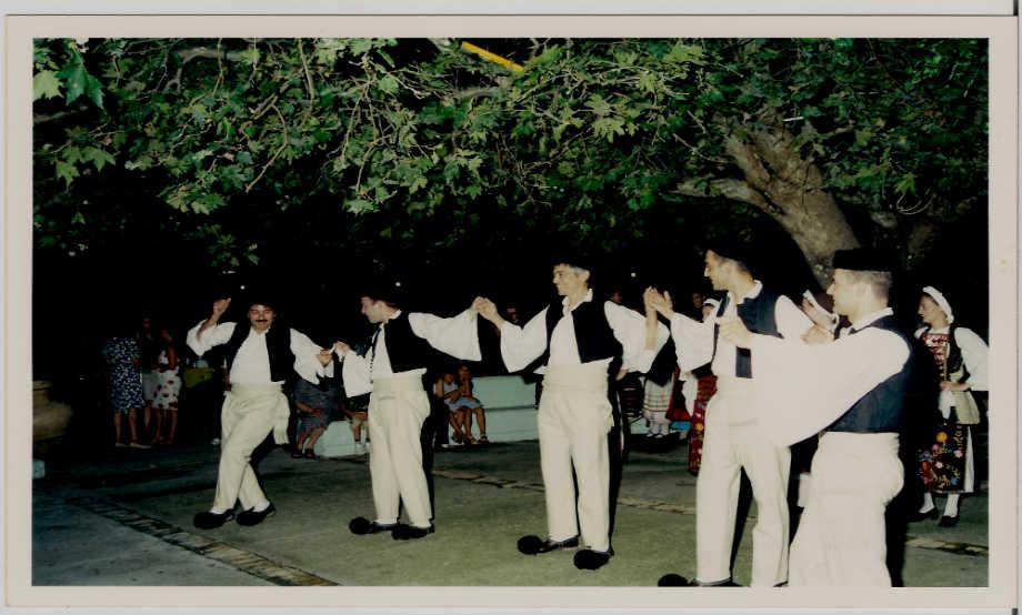 """2001-07-04: Ελληνική βραδιά στο """"Πάρκο της Ειρήνης"""""""