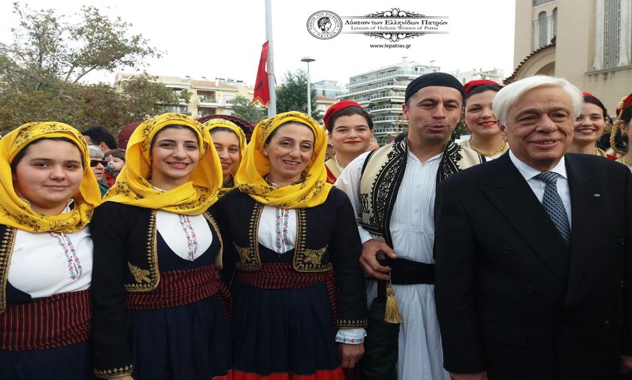 2017-11-30: Συμμετοχή ΛτΕΠ στις εκδηλώσεις Εορτασμού του Πολιούχου Πατρών Αποστόλου Ανδρέα