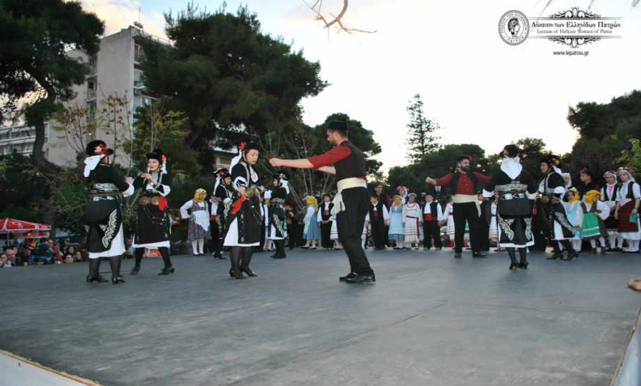 2015-04-30: Συμμετοχή στις εκδηλώσεις του Δήμου Πατρέων για τον εορτασμό της Πρωτομαγιάς