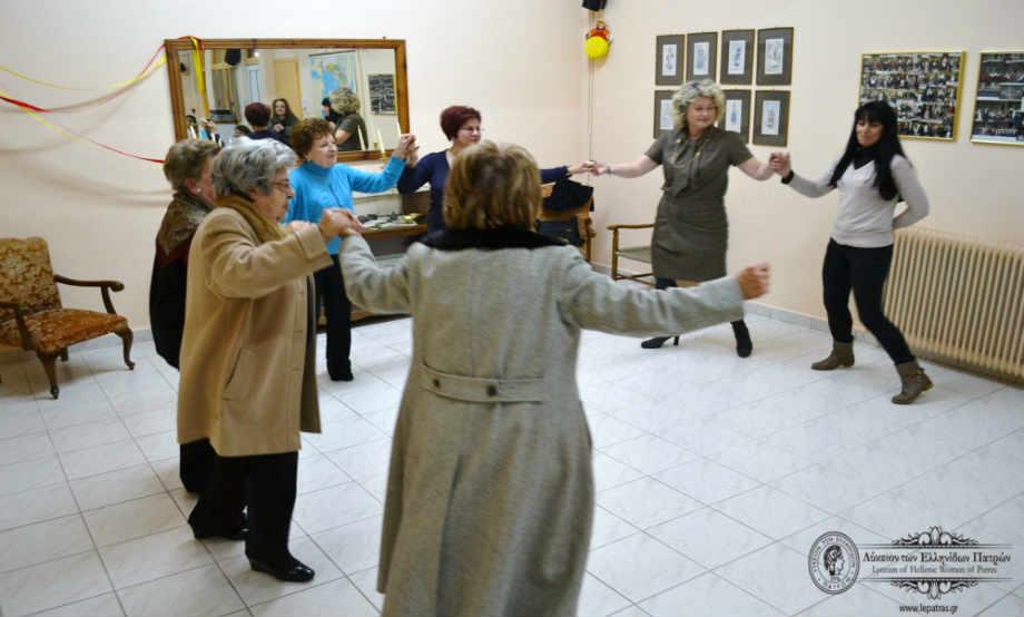2015-02-15: Αποκριάτικο Γλέντι Μελών του Λυκείου των Ελληνίδων Πατρών