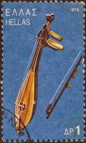 1975  Έκδοση Λαϊκά Μουσικά Όργανα - Κρητική Λύρα