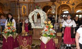 2016-09-25: Συμμετοχή Λυκείου των Ελληνίδων Πατρών στις εκδηλώσεις Επανακομιδής της Αγίας Κάρας του Πολιούχου Πατρών