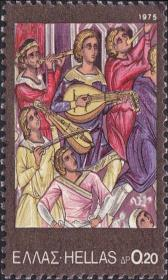 1975  Έκδοση Λαϊκά Μουσικά Όργανα - Βυζαντινή Μουσική