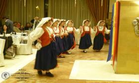 """2016-03-04:  Χορευτική ομάδα του ΛτΕ Πατρών συμμετείχε στον αποκριάτικο χορό του συλλόγου των Εν Πάτραις Κερκυραίων """"Ο Άγιος Σπυρίδων"""""""